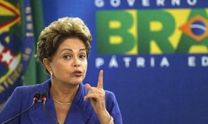 A presidenta Dilma Rousseff denunciou muitas vezes que a tentativa de julgamento político (impeachment) contra ela é uma tentativa de golpe de Estado.