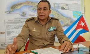"""""""A realização do exercício Meteoro ratifica, cada ano, a vontade política do Estado e o governo de Cuba de não poupar recursos para preservar a vida das pessoas"""", reafirma Cobas."""