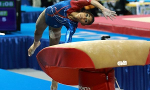 A ginasta Marcia Videaux se converteu recentemente em nossa última classificada até agora.